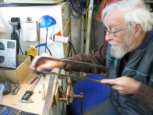 141 . An unfinished symphony – The maintenance of a small cruising yacht -punch and hacksaw - 2
