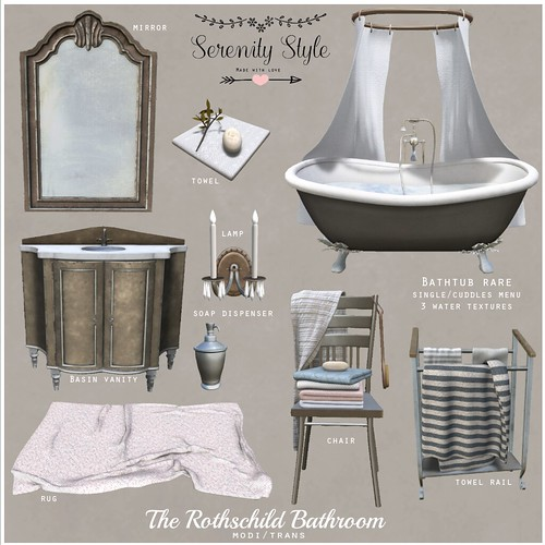 Serenity Style- The Rothschild Bathroom Key | by Oωηєя σƒ Sєяєηιту Sтуℓє