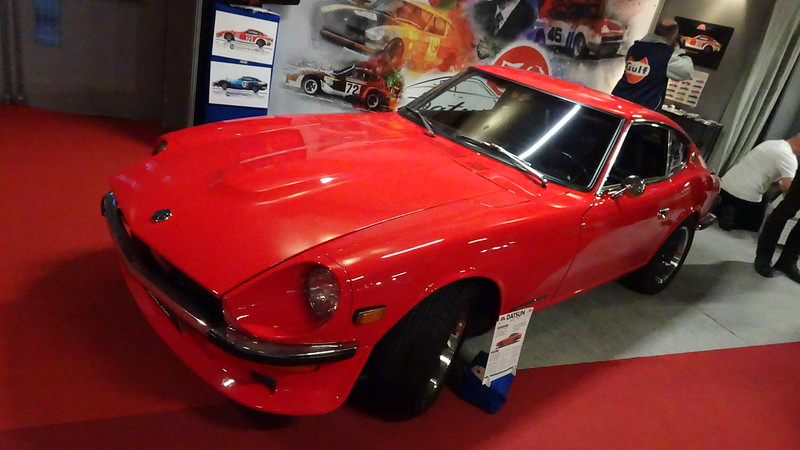 Datsun 240Z 1971 - Retromobile Paris 2019 46456272754_d3cdb1efb8_c