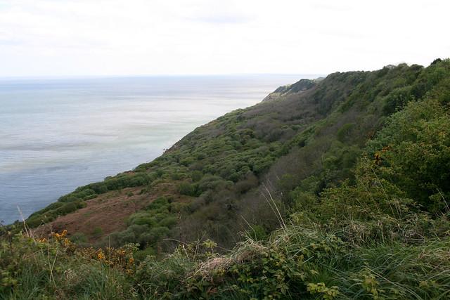 The coast south of Ravenscar