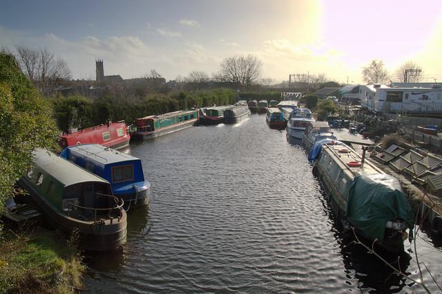 Ashton Basin of the Lancaster Canal