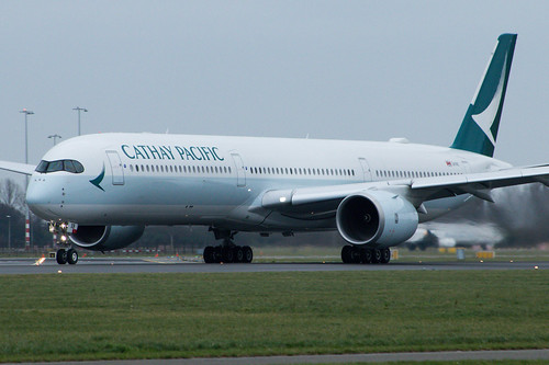 Cathay Pacific A35K B-LXB | by Werner Verbogt