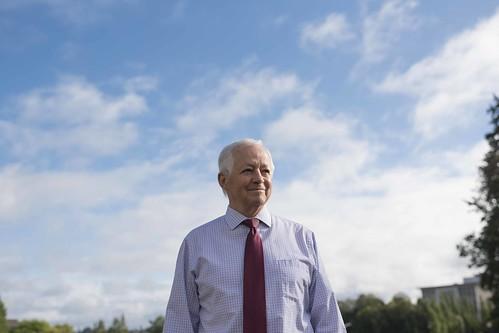 Mike Kreidler, 2017, Washington state Capitol, courtesy Easton Richmond | by WA OIC