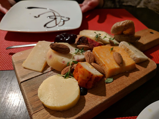 cheese board @ La Maison Rouge 48