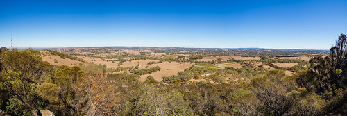 mountbarker adelaidehills adelaide australia southaustralia mountain hill view summit climb outdoor outside autumn pano panorama panoramic olympusem10 olympus olympusomd country tree plains microfourthirds pleasant flickr travel nature natural landscape