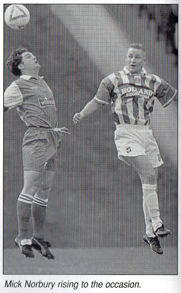 (Programme) 17-09-1996 Halifax Town 4-1 Stalybridge Celtic 6 (Mick Norbury)