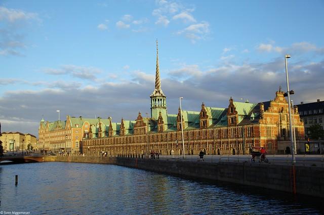 Die alte Börse von Kopenhagen (Børsen).