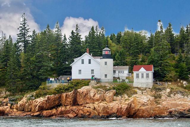 Bass Harbor Head  Lighthouse. Acadia National Park, Bar Harbor, Maine