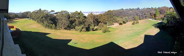 View to Jamison Valley from Fairmont Resort, Blue Mountains, Leura, NSW
