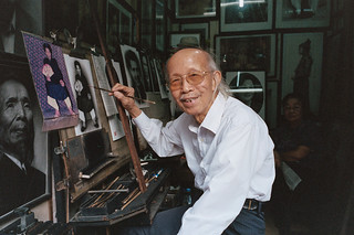 Master Painter @Hang Dao Street | by anxin!