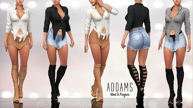 ADDAMS NEW WIP - FLASH 24 Hs GIVEAWAY