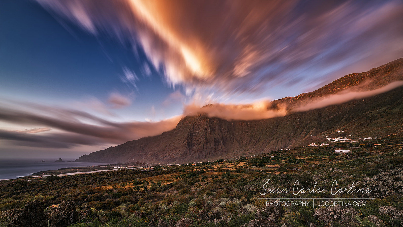 TIMELAPSE EL HIERRO, THE LAST ISLAND