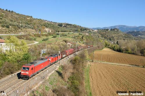 E483.107+E191.018 DB Cargo Italia   by Simo483