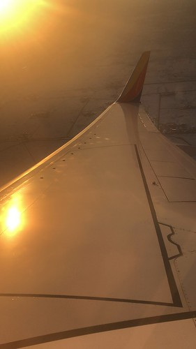 mabrycampbell photo image flying albuquerque newmexico sunset southwestairlines airplane wing iphone december 2018 fav10 fav20 fav30
