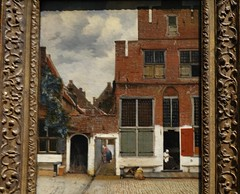 Vermeer, View of Houses in Delft, ca. 16670; Rijksmuseum, Amsterdam (3)