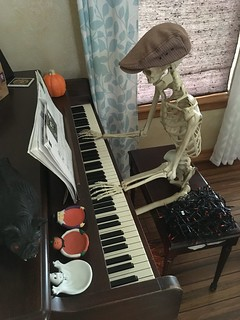 Picture of the Day - October 25, 2018 / Piano Skeleton   by sitzmansitzman
