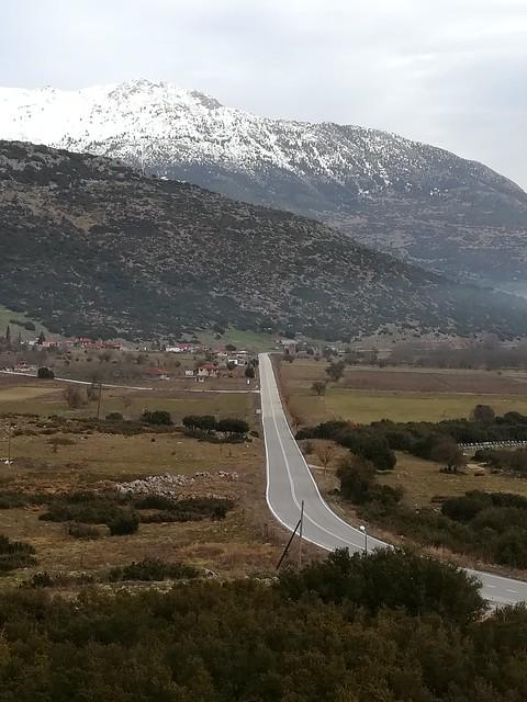 Rute 66 in Greece!!! Stymfalia lake