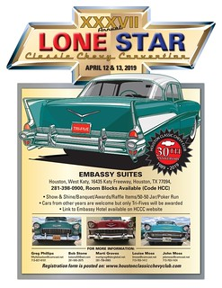 April 12-13 Lone Star Classic Chevy Convention Houston | by teejaze