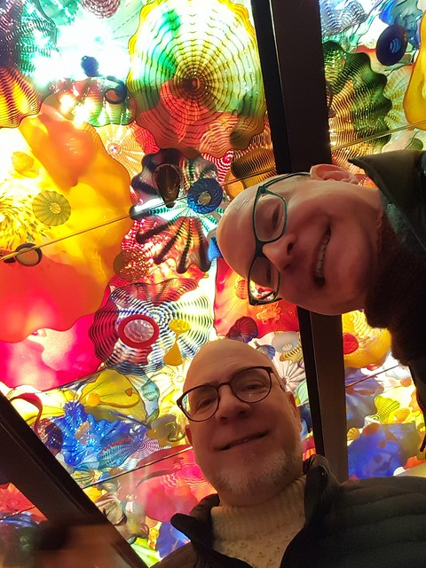 glassy selfie