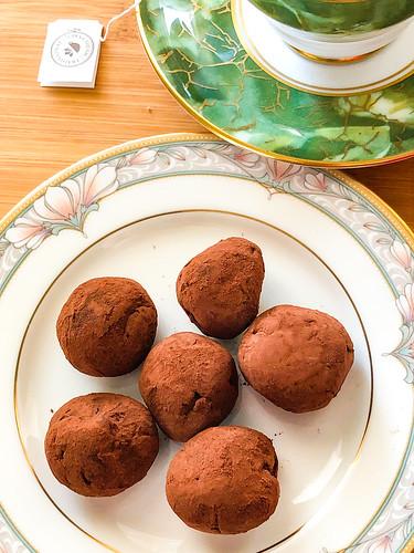 Raspberry Leaf Truffles-16 | by Suzie the Foodie www.suziethefoodie.com