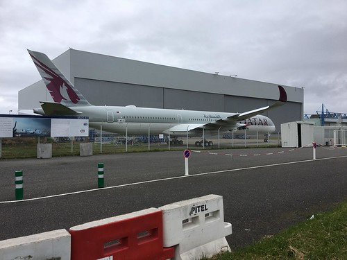 241 Airbus A350-1041 F-WZGC A7-ANI | by Dan Raistrick