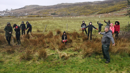 SMART with their new pocket orchard! | by Gairloch High