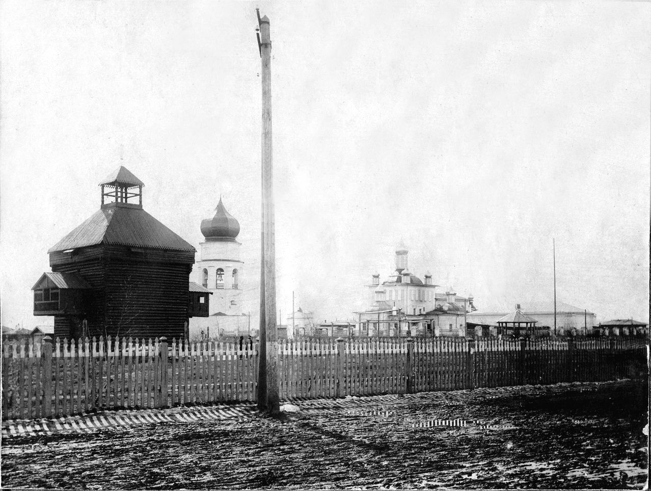 Якутская надвратная башня