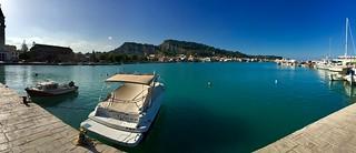 Harbour in Zakynthos
