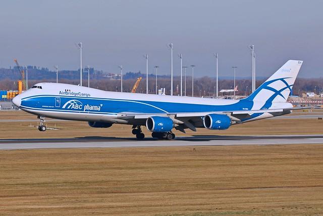 Air Bridge Cargo / VQ-BRH / B 747-8HVF