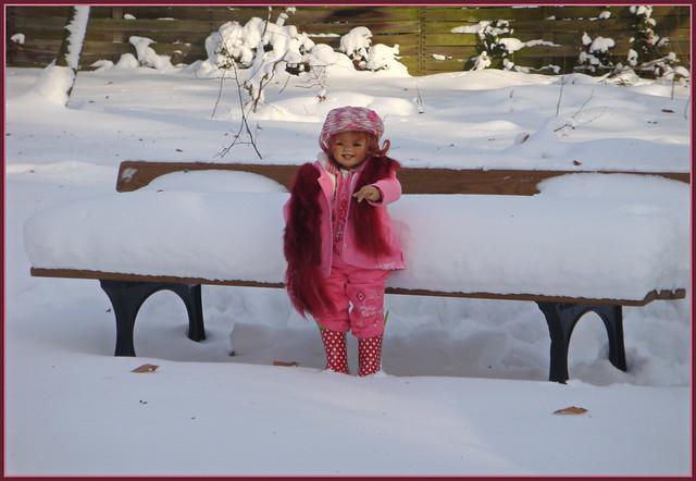 Sanrike ... so hoch ist der Schnee