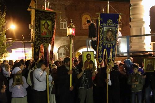 Пасхальное Богослужение в Свято-Никольском храме станицы Кавказской IMG_1227
