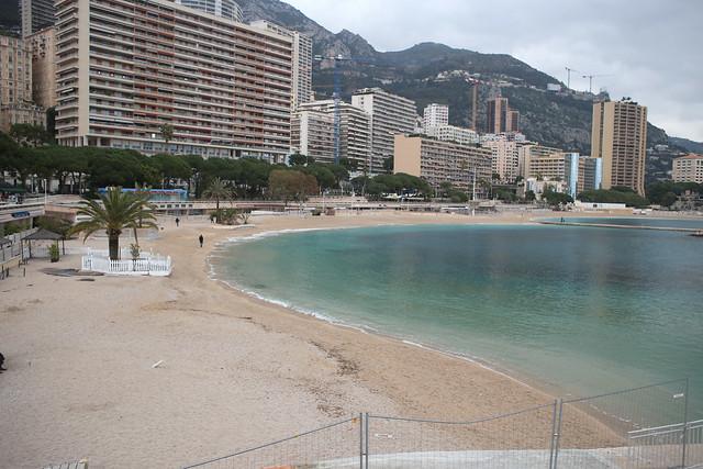 Larvatto beach, Monaco