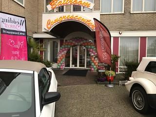 Ballonboog 6m Bruidsbeurs Carlton Oasis Hotel Spijkenisse   by Globos Ballonnen