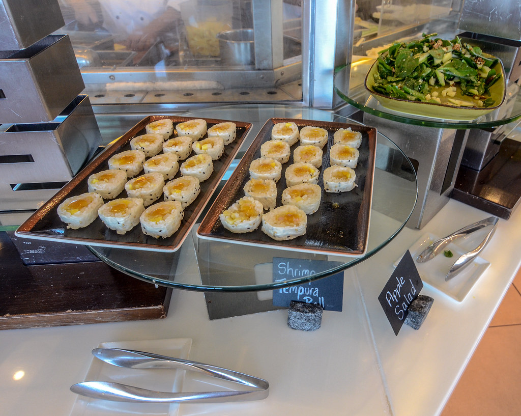 Shrimp Roll Apple Salad California Grill Brunch