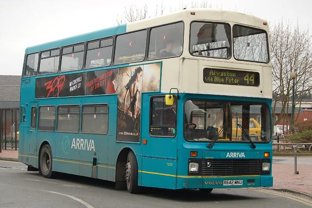 Arriva Volvo Olympian 4642 R642MNU - Derby