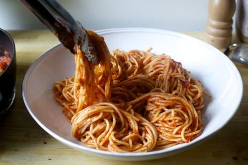 first the spaghetti | by smitten kitchen