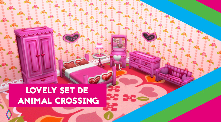 Mod destacado: Serie Corazones de Animal Crossing para LS4 de Laffey Sti