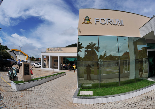 TJMA inaugura reforma do Fórum da Comarca de Tuntum