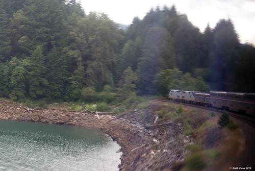 crale oregon coaststarlight train amtrak passenger passengertrain