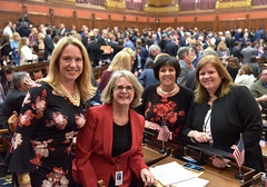 Rep. Hill with all newly elected House Republican female representatives.