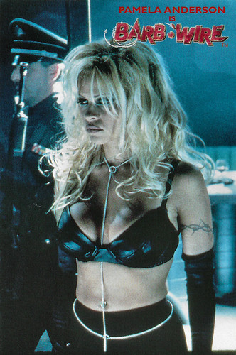 Pamela Anderson in Barb Wire (1996)
