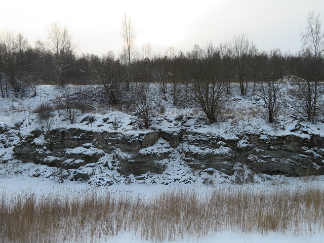 Fosforiidimaa / Phosphate Rock mining area in Estonia