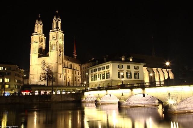 Zürich Großmünster am 20.02.19