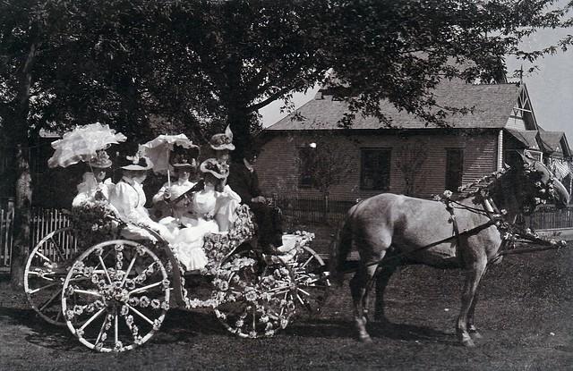 SCN_0183 Pleasantville Jubilee Sept 23-29 1899 in front of AE Stevens residence