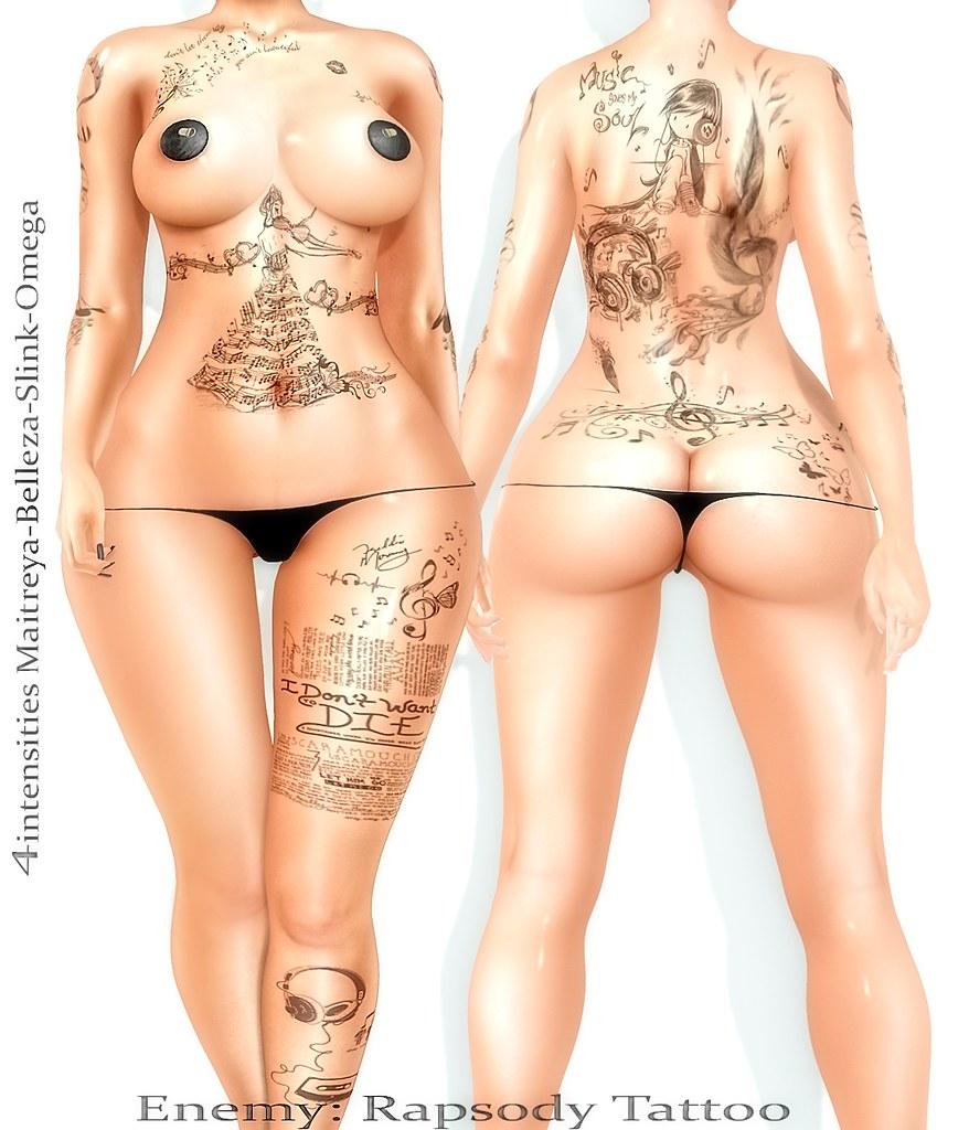 Rapsody tattoo