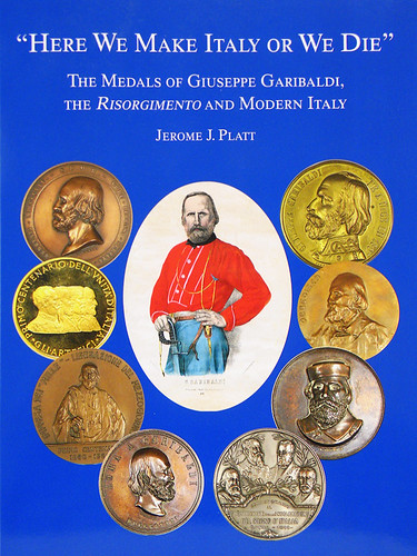 The Medals of Giuseppe Garibaldi book cover | by Numismatic Bibliomania Society