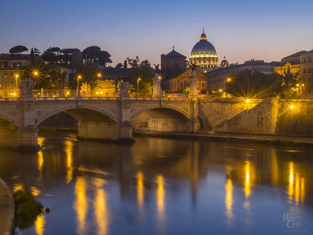 Twilight on the Vatican