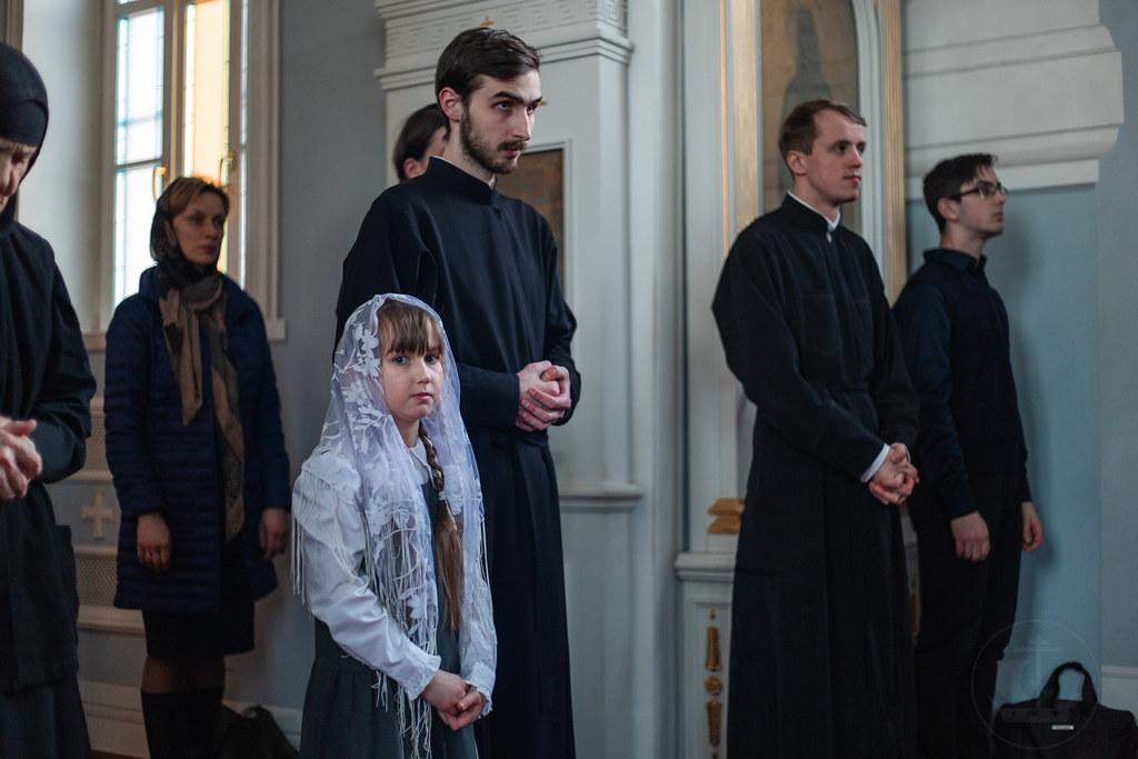 27 марта 2019, Литургия Преждеосвященных Даров / 27 March 2019, The Divine Liturgy of presanctified Gifts
