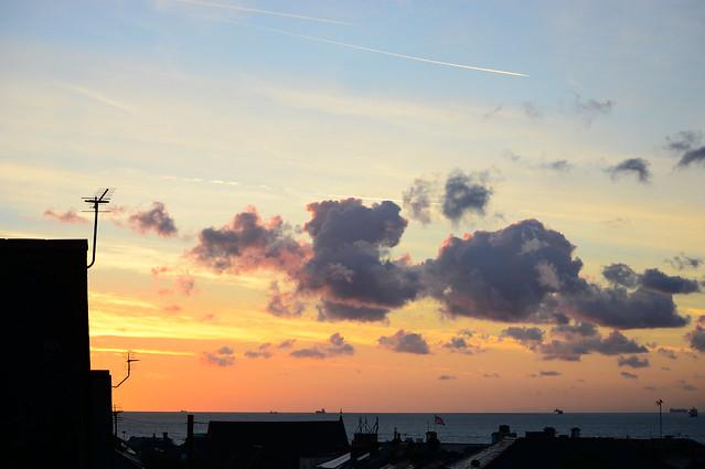 Autumn Sunrise Over Sandown