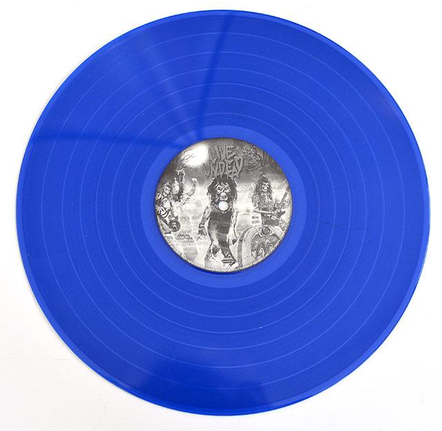 A0352 SLAYER Live Undead Blue Vinyl